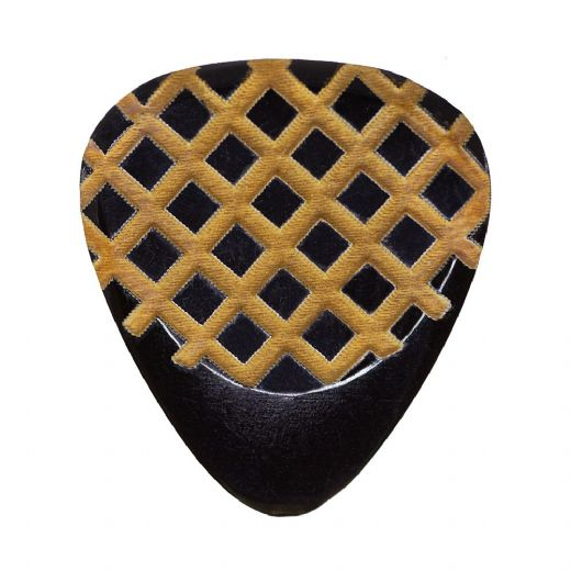 Grip Tones Black Horn 1 Guitar Pick
